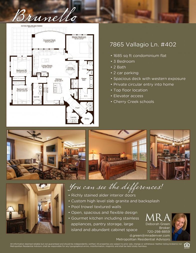 vallagio real estate flyer sample mark taylor designs 7865 valln flyer 2